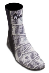 "CHAUSSONS SURF WETTY ""DOLLAR"""