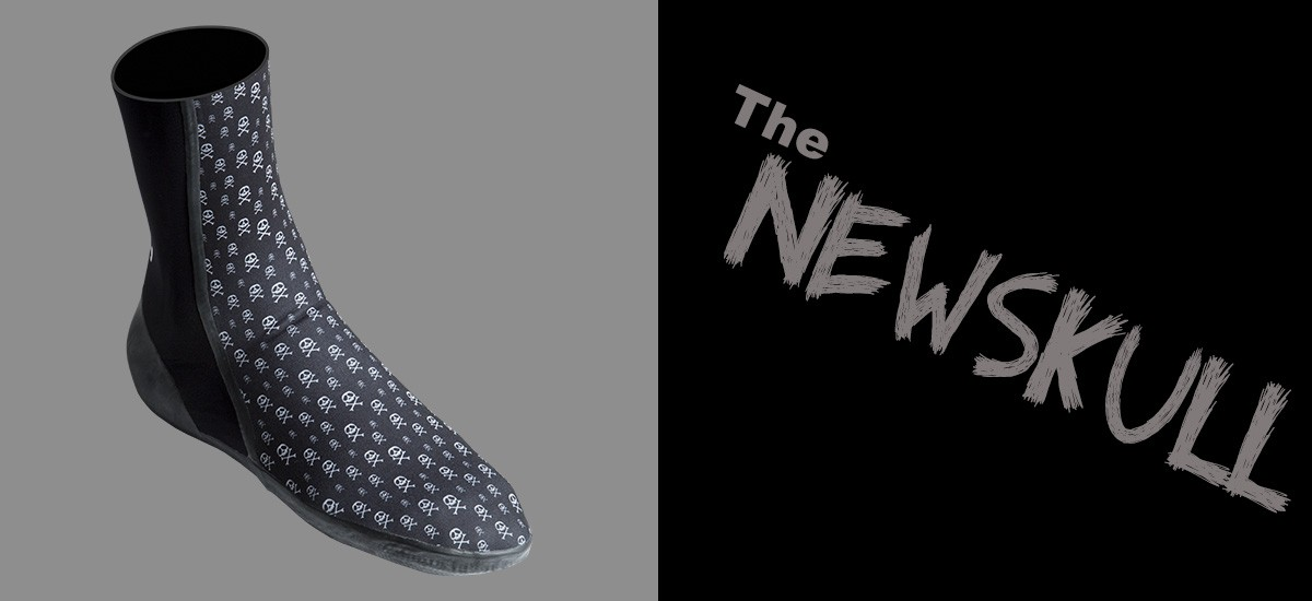 "chaussons de surf WETTY ""NEWSKULL"""
