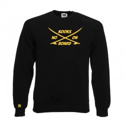"SWEAT SHIRT ""NO KOOKS ON..."