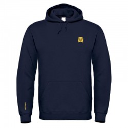 HOODED SWEAT SHIRT WETTY NAVY