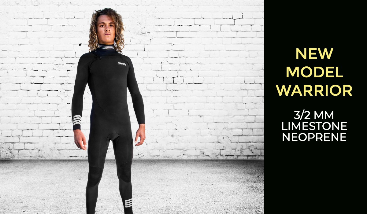 new WETTY WETSUIT WARRIOR